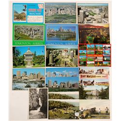 Edmonton, Canada Postcards  (91388)