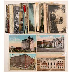 Winnipeg, New Brunswick, Sask (Postcards)  (91390)