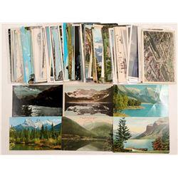 Canadian Rockies Postcards  (91389)