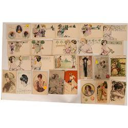 Better Artistic Postcards of Women (25)  (111698)