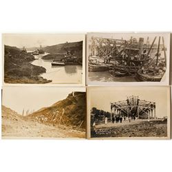 Panama Canal Construction Real Photo Postcards  (58596)