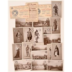 Tuck Pageant Series Postcards in Original Holders (18)  (111700)