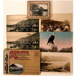 Early Alaska RPC and Litho Postcards, Souvenirs  (118100)
