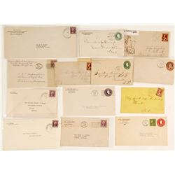 Globe/Inspiration, AZ Postal Covers (12 count)  (61812)