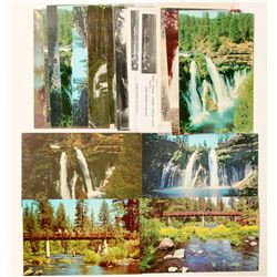 Burney Falls, CA Postcards  (90780)