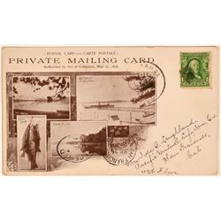 Lake Tahoe Private Mailing Card  (118098)