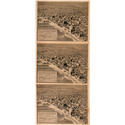 Three RPC Postcards of Long Beach, CA, Earthquake  (118103)