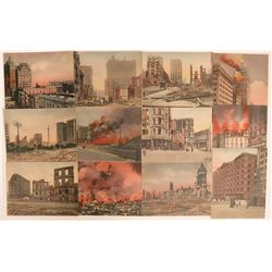 Postcards of SF Earthquake, 1906  (118104)