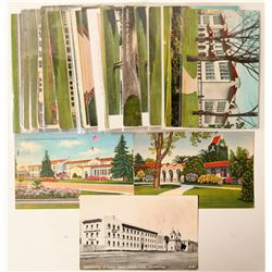 San Jose, CA School & Library Postcards  (90762)