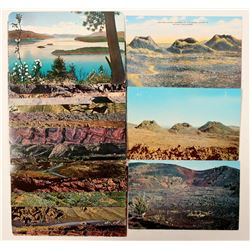 Idaho Basalt Park and Craters of the Moon Postcards  (90754)