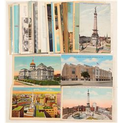 Indiana Postcards Chromolitho's & RPC's  (91325)