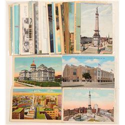 Indiana Postcards Chromolitho's & RPC's  (91325)