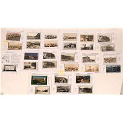Eureka Real Photo Postcard Group (25)  (116131)