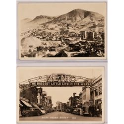 Reno Nevada, Real Photo Postcards, early images of the Biggest Little City in the World   (119567)