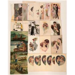 Art Postcards Of Men and Women (29)  (111692)