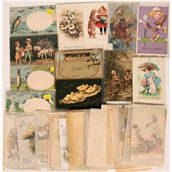 Large Easter Including Clapsaddle's, Gassaway's & Tuck Postcards (54)  (111738)