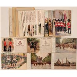 British Infantry & Generals Postcards (35)  (111726)
