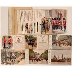 British Infantry & Generals Postcards (35)  (111726)