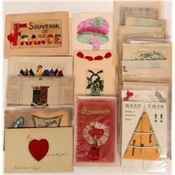 Cloth, Fabric & Embroidery Postcards (31)  (111746)