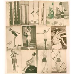 Hollywood Bathing Beauties Postcards (20)  (111717)