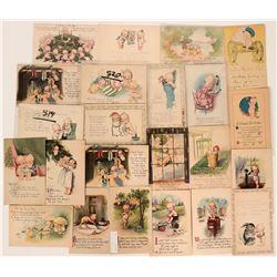 Kewpie Doll Postcard Group (23)  (111679)