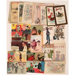 Lot of Humorous Postcards (32)  (111697)