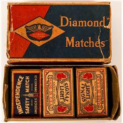 Matchbox Philatelic Treasure Lot  (116177)