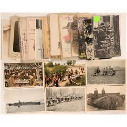 Military Grouping of Postcards (20)  (111729)