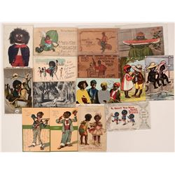 Postcards Depicting African Americans (16)  (111694)
