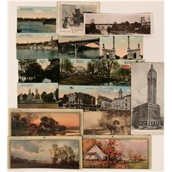 Small Sized Postcards (17)  (111744)