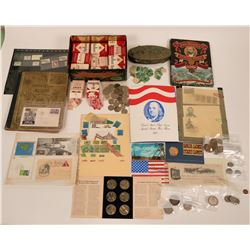 Stamp, Coin, Token Lot  (108792)