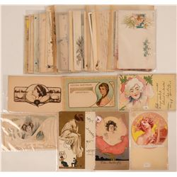 Victorian & Art Deco Women Postcards (41)  (111727)