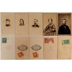 Rare Revenue Stamp CDV's  (117314)