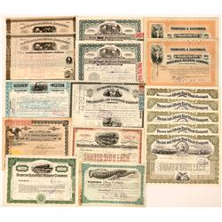 Stock and Revenue stamp collection  (110529)