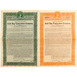 Cold Bay Exploration Company Oil Royalty Certificates  (83618)