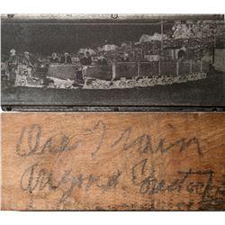 Metal Stamp for Arizona Comstock Ore Train  (117464)