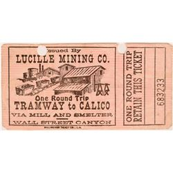 Lucille Mining Co. Ticket  (119101)