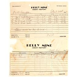 Kelly Mine Assay Reports (2)  (65046)