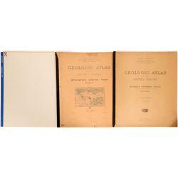 Michigan-Minnesota USGS Geologic Folios  (112321)