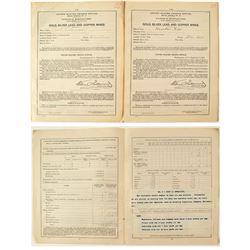 Butte Annual Mine Reports (2 each)  (40800)
