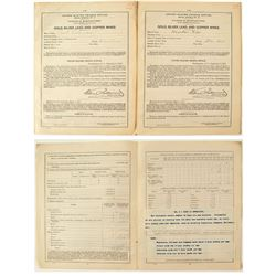 Butte Annual Mine Reports (2 each)  (40800)