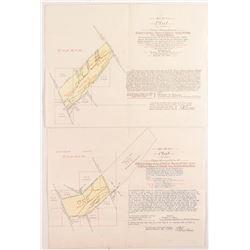 Deer Lodge Placer Mining Maps/Patents  (50404)