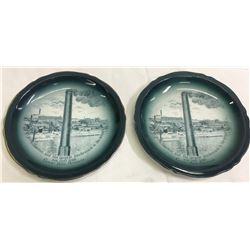 Boston & Montana Smelter Decorative Plates  (87401)