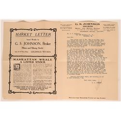Manhattan Whale Mining and Milling Co. Promotional Material  (117563)