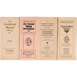 Two Patrick Investment Prospectuses: Forward and Goldfield Mascot  (119403)