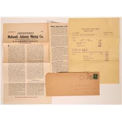 Mohawk-Johnnie Mining District Ephemera  (117561)