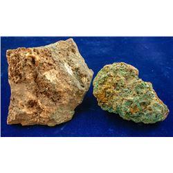 Two Mammoth Mine rock specimens  (88601)