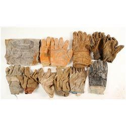 Historical Mining Gloves Found Underground  (88370)