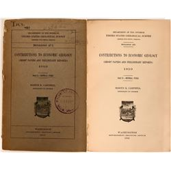 Dept. of Interior Geological Survey on Coal and Oil 1912  (116410)