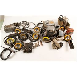 Mining Lamp and Batteries Assortment  (88346)